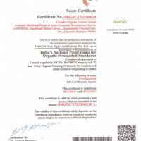 organic scope certificatie